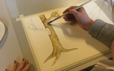 Cursus aquarel les 4: schaduw en belichting