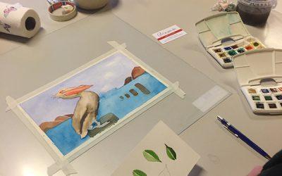 Cursus aquarel deel 2: Perspectief