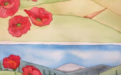 Cursus aquarel les 5: glaceren